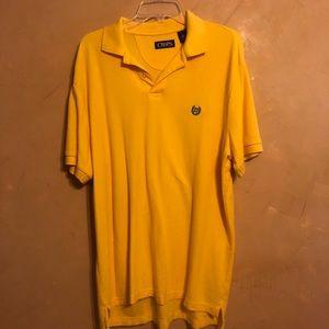 Chaps by Ralph Lauren Polo Shirt L Yellow